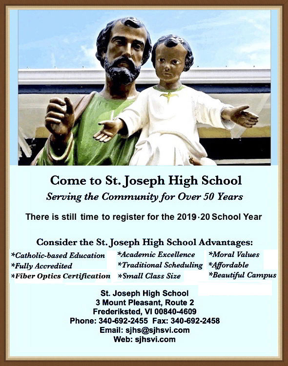 SJHS Registration Ad